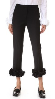 Идеально скроенные брюки с аппликацией Victoria Victoria Beckham