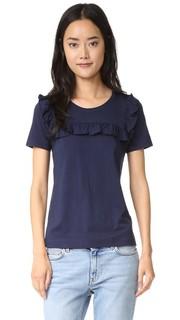 Футболка-рубашка Frill с оборками Sonia by Sonia Rykiel