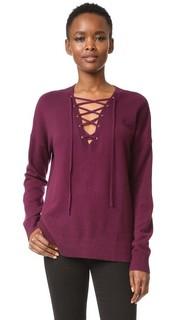Пуловер со шнуровкой The Kooples