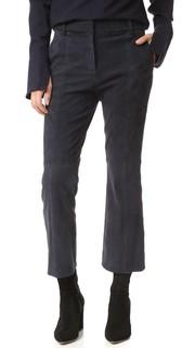 Замшевые укороченные брюки Alain Tibi