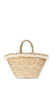 Объемная сумка Seagrass с короткими ручками и кисточками Hat Attack
