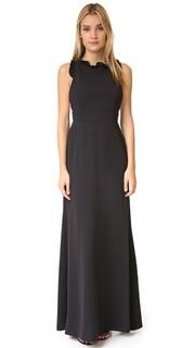 Вечернее платье с вырезом и оборками Jill Jill Stuart