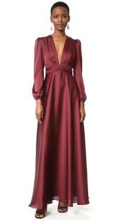 Вечернее платье с V-образным вырезом Jill Jill Stuart
