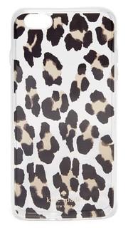 Прозрачный чехол для iPhone 6 Plus/6s Plus с леопардовым принтом Kate Spade New York