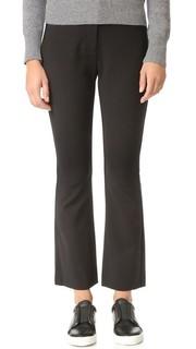 Узкие расклешенные костюмные брюки Rebecca Taylor
