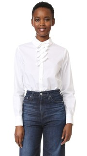 Рубашка на пуговицах с бантиками Sonia by Sonia Rykiel