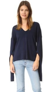 Пуловер с V-образным вырезом Tibi