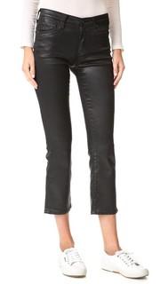 Укороченные джинсы Jodi из искусственной кожи AG