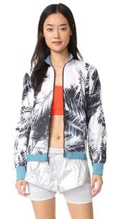 Куртка для бега с принтом в виде пальм Adidas by Stella Mc Cartney