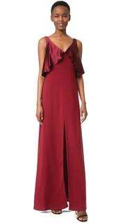 Вечернее платье с атласным накладным элементом Jill Jill Stuart