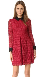 Кружевное платье Venice с воротником Jill Jill Stuart