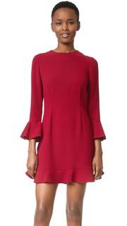 Платье с рукавом-колоколом Jill Jill Stuart