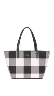 Миниатюрная объемная сумка Harmony с короткими ручками Kate Spade New York