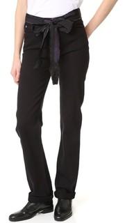 Свободные джинсы с поясом-лентой Marc Jacobs