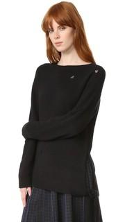 Кашемировый свитер с завязками на боку Marc Jacobs