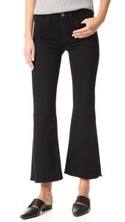 Расклешенные потрепанные джинсы Lou M.I.H Jeans
