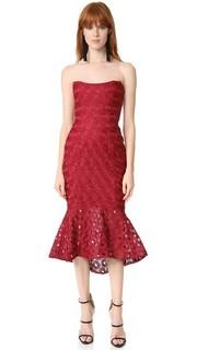 Кружевное платье без бретелек Spot Nicholas