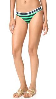 Классические плавки бикини в полоску Stella Mc Cartney