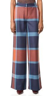 Клетчатые брюки Ashland Tanya Taylor
