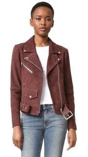 Классическая замшевая куртка Jayne Veda