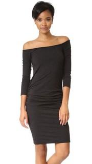 Платье с открытыми плечами Monrow