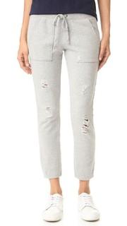 Спортивные брюки с эффектом поношенности Pam & Gela