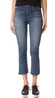 Укороченные расклешенные джинсы Emmanuelle Siwy