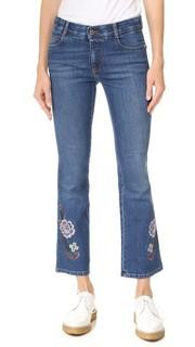 Узкие расклешенные джинсы-скинни Kick Stella Mc Cartney