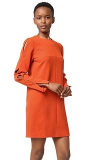 Платье с пуговицами на рукавах Tibi