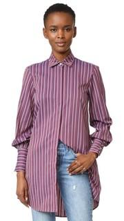 Рубашка в мужском стиле Caroline Constas