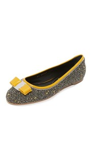 Обувь из твида Varina на плоской подошве Salvatore Ferragamo
