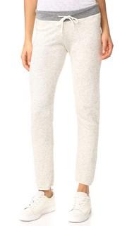 Винтажные спортивные брюки с контрастным поясом Monrow
