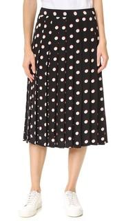 Длинная юбка в широкую складку Marc Jacobs