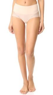 Кружевные трусики-шорты UndieTectable с высокой талией Spanx