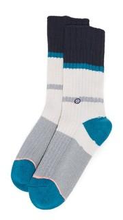 Носки под ботинки с серебристыми полосками из материала с содержанием кашемира Stance