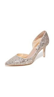 Туфли-лодочки с блестками Daisy Badgley Mischka
