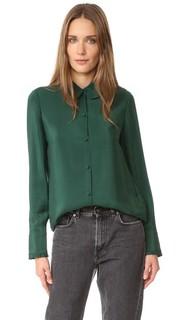 Блуза Le с оборками на манжетах Frame