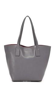 Объемная сумка-шоппер с короткими ручками Wingman Marc Jacobs