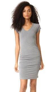 Платье с V-образным вырезом Sundry