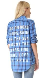 Объемная рубашка To Do List Sundry