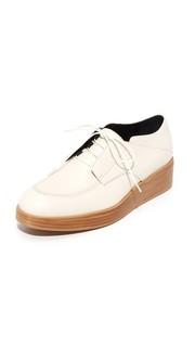 Ботинки на шнурках Pheobe на платформе Tibi
