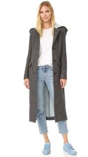 Меланжевое пальто Andela Acne Studios