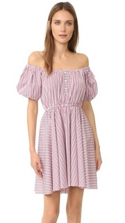Платье Bardot Caroline Constas