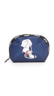 Куполообразная косметичка Peanuts X LeSportsac среднего размера