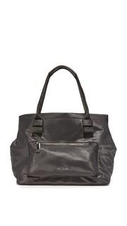 Простая большая объемная сумка с короткими ручками Marc Jacobs
