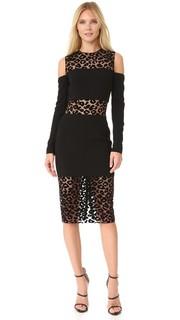 Платье с короткими рукавами Mugler