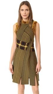 Платье без рукавов из жаккарда с драпировкой 3.1 Phillip Lim