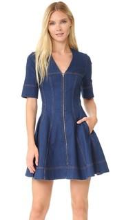 Платье из денима с молнией Stella Mc Cartney