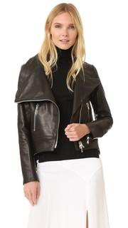 Байкерская куртка Mission с расклешенной спинкой Veronica Beard