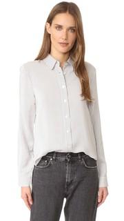 Шелковая рубашка на пуговицах сзади Jenni Kayne